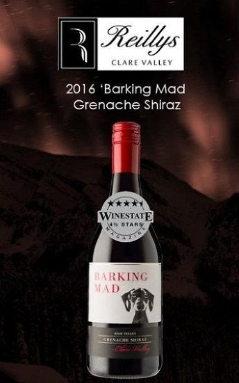 2016 Reilly's 'Barking Mad' Grenache Shiraz