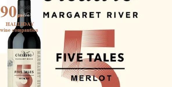 2017  Credaro 5 Tales Merlot Margaret River