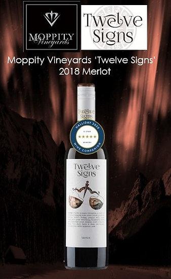 2018 Moppity 'Twelve Signs' Merlot