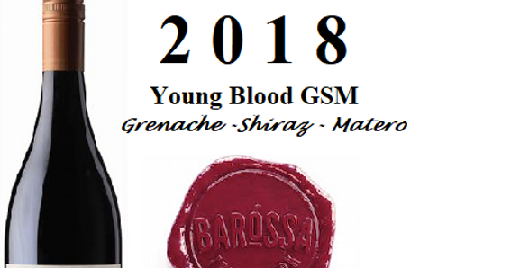 2018  Tomfoolery 'Young Bloood' GSM Barossa Valley