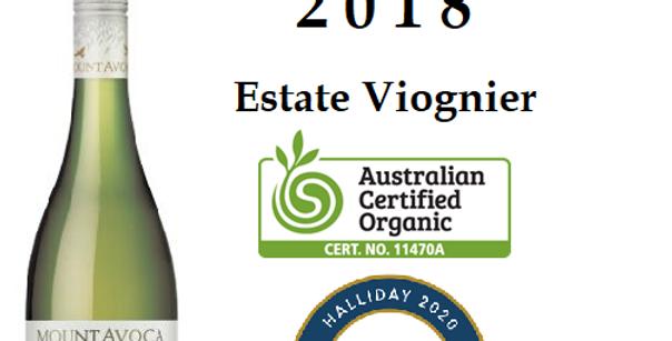 2018  Mt Avoca 'Estate'Viognier Pyrenees Victoria