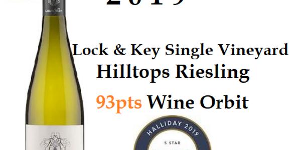 2019 Lock & Key Riesling Single Vineyard