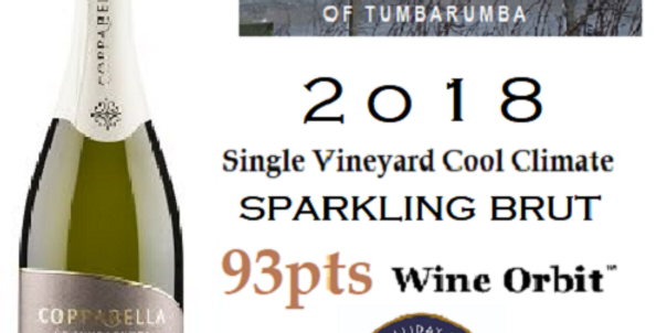 2018 Coppabella Sparkling Brut Single Vineyard