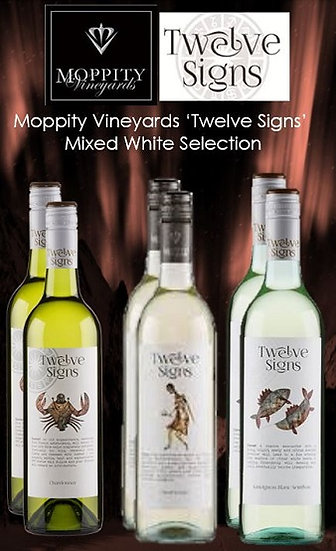 Moppity 'Twelve Signs' Mixed Whites