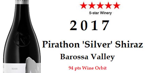 2017 Pirathon  'Silver' Shiraz