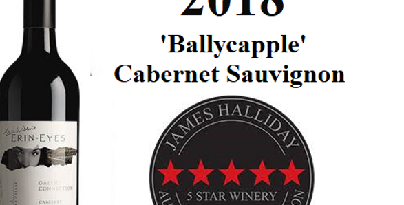 2018  Erin Eyes  Ballycapple Cabernet Clare Valley