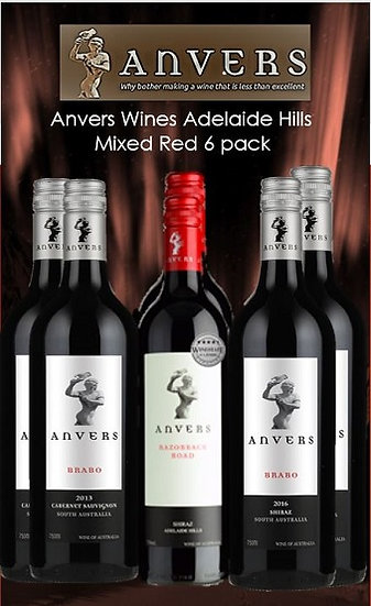 Anvers Mixed Red