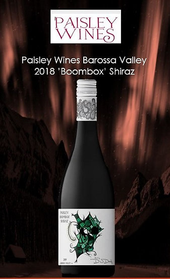 2018 Paisley 'Boombox' Shiraz Barossa Valley