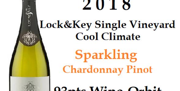 2018 Lock & Key Sparkling Chardonnay Pinot