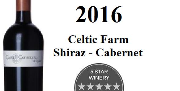 2016   GCV Celtic Farm  Shiraz/Cab0ernet  Clare Valley