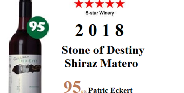 2018 Erin Eyes 'Stone of Destiny Shiraz Malbec
