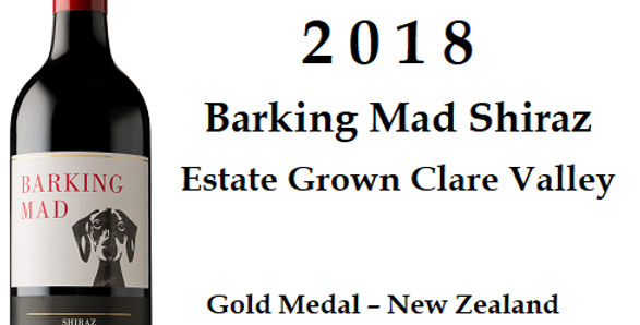 2018  Reillys Estate'Barking Mad' Shiraz