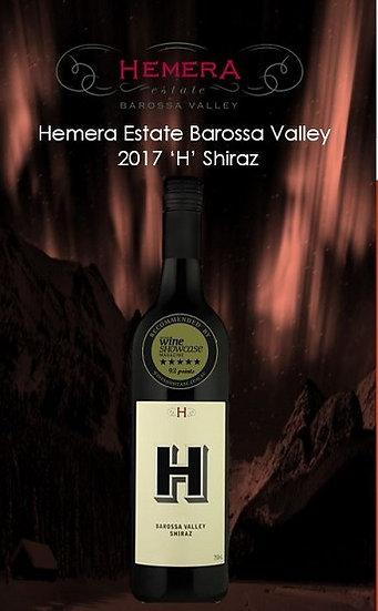 2017 Hemera 'H' Shiraz Barossa Valley .