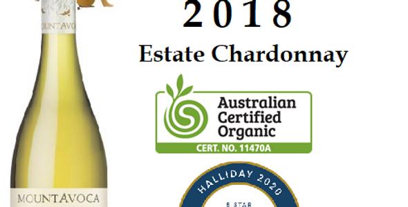 2018 Mt Avoca 'Estate' Chardonnay Pyrenees Victoria