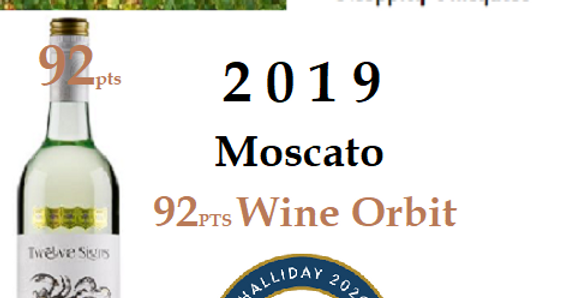 Moppity Twelve Signs 2019 Moscato