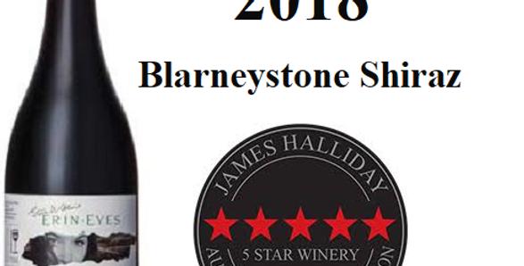 2018 Erin Eyes Clare  'Blarney Stone' Shiraz  Clare Valley