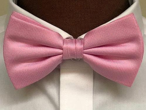 Fluga färdigknuten siden - rosa