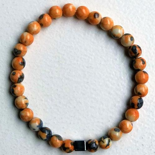 Armband beads - orange