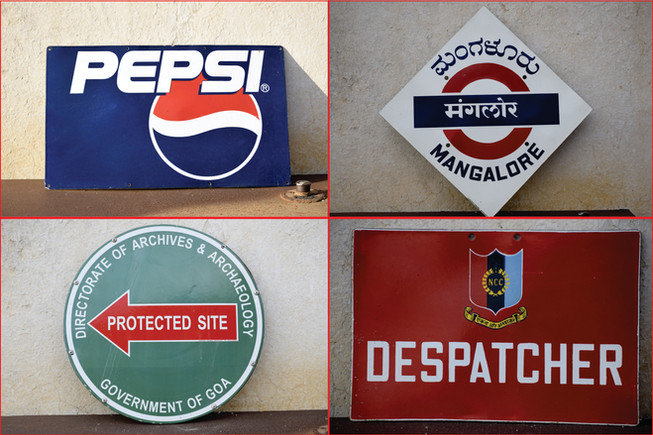 ADVERTISING SIGNAGES and DIRECTION BOARDS