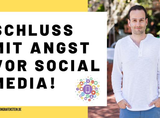 KEINE ANGST VOR SOCIAL MEDIA - SO GEHT'S!
