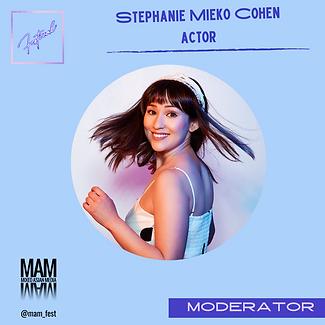 Stephanie Mieko Cohen- Moderator.png