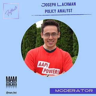 Joseph Lachman - Moderator.png