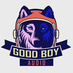 Good Boy Audio logo design