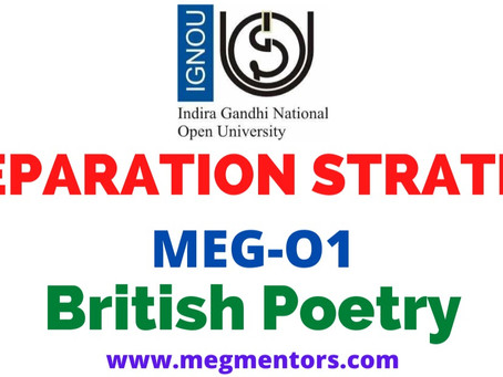 Prepare MEG-01 British Poetry