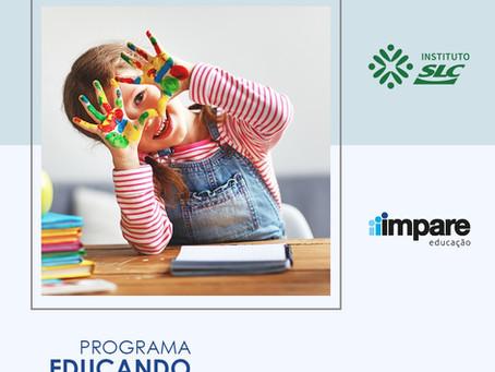 Programa Educando para a Vida: Parceria Instituto SLC e Impare Educação