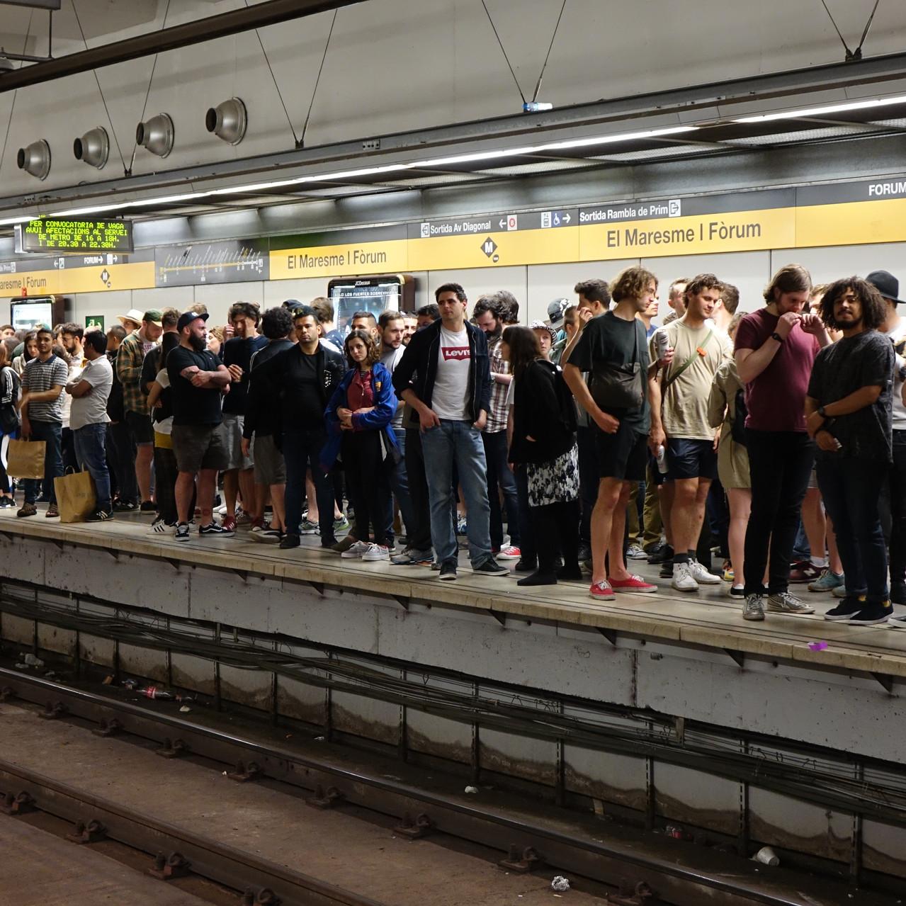Gracias huelga del metro