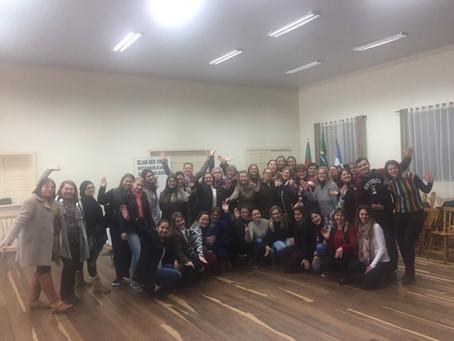 União faz a Vida Sicredi Centro-Serra e Impare Educação em Candelária/RS