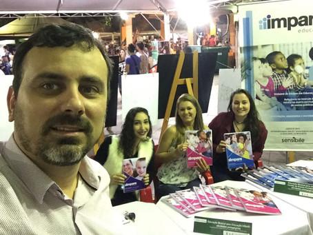 Impare Educação presente na Feira do Livro de Santa Maria - RS