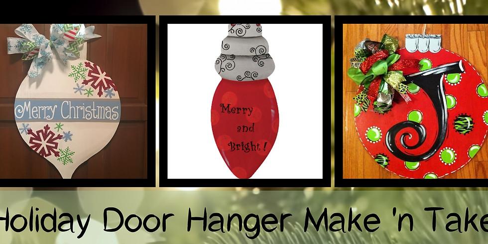 Holiday Door Hanger