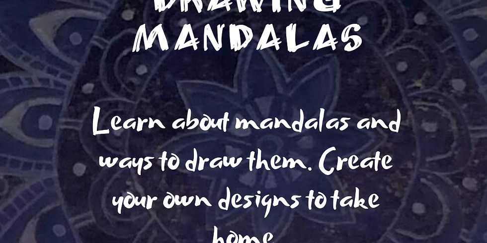 Intro to drawing Mandalas