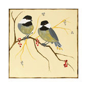 Chickadees & Berries