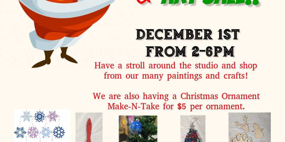 Christmas Open House & Art Sale!!