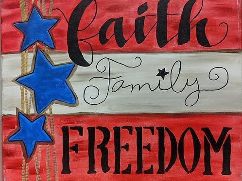 Faith Family Freedom
