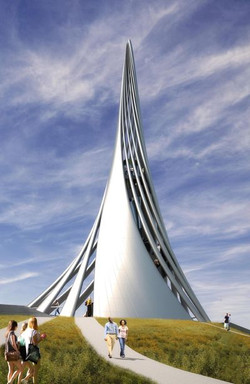 Future Peace Tower Rendering