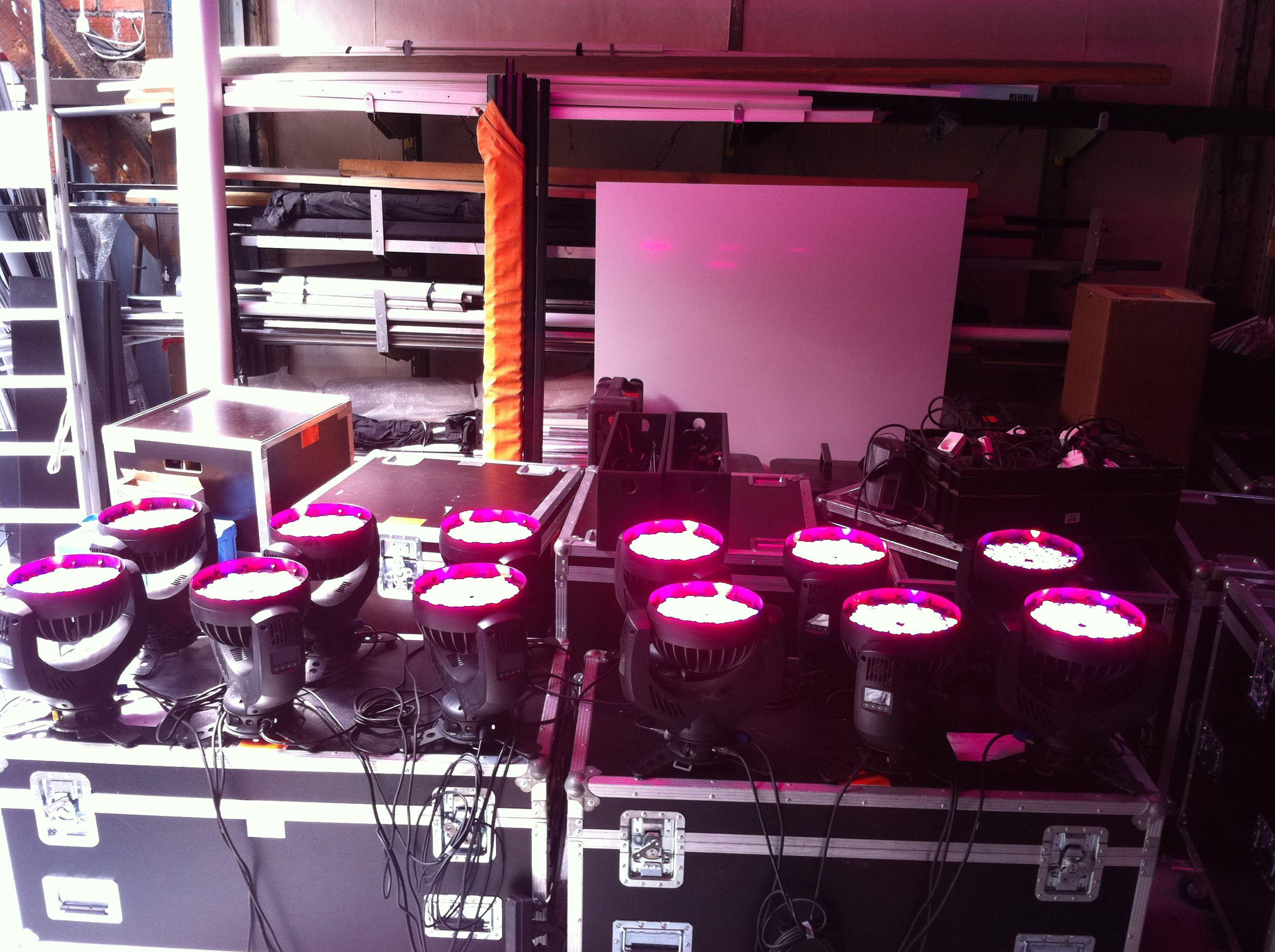 projecteurs asservie Lumière