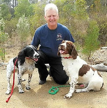 Photo of Steve Austin, a dog trainer.