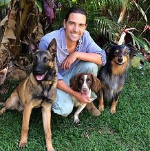 Photo of Ryan Tate, a dog trainer.