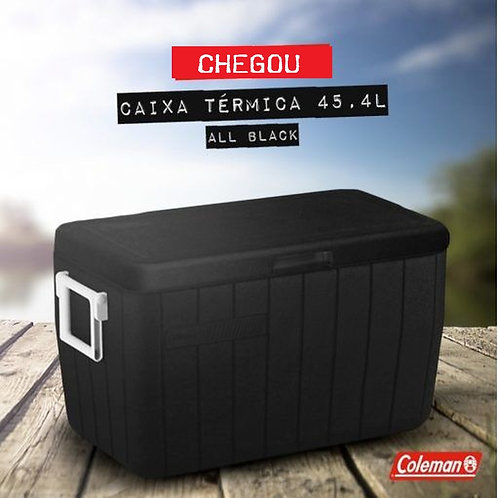 Caixa Coleman 48qt ALL BLACK