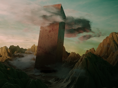 Landscape with Monolith
