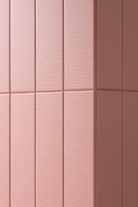dettaglio del rivestimento ceramico