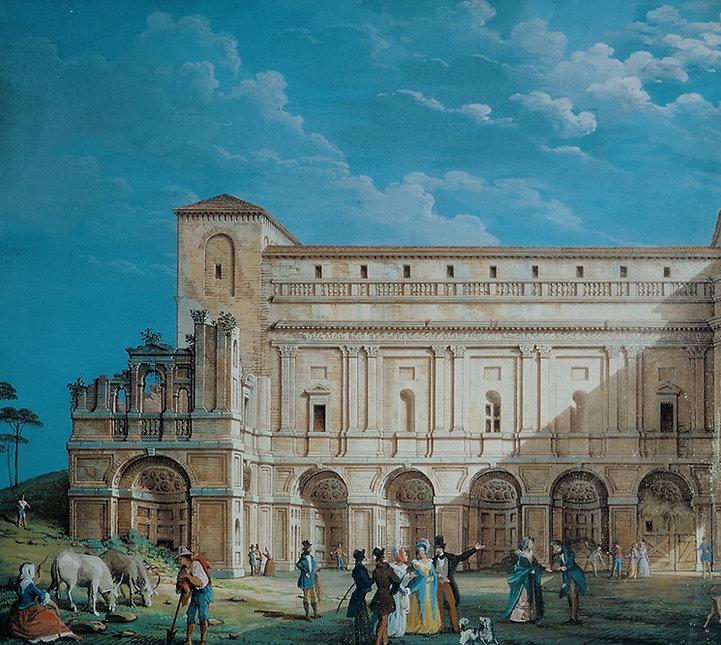 Villa Imperiale, ala roveresca