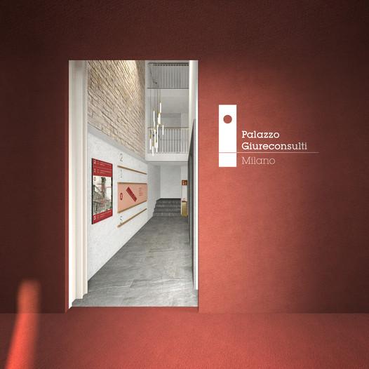 segnaletica di orientamento, zona ascensori