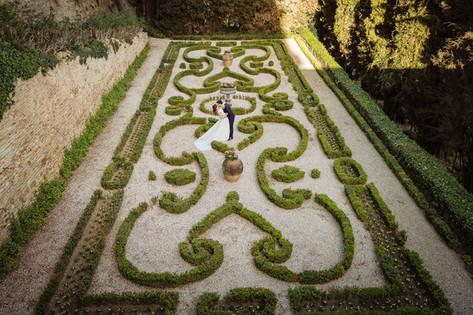 Il giardino all'italiana inferiore