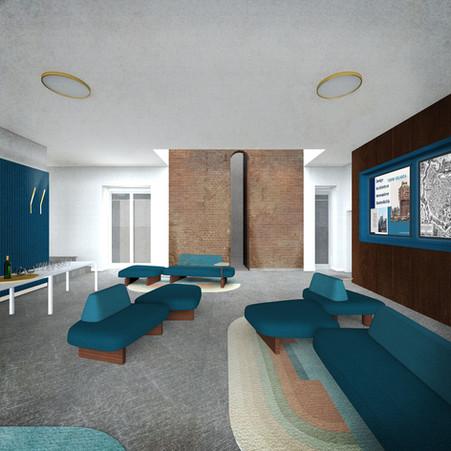 Sala Torre, lounge, secondo piano