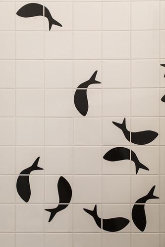 dettaglio del bagno padronale
