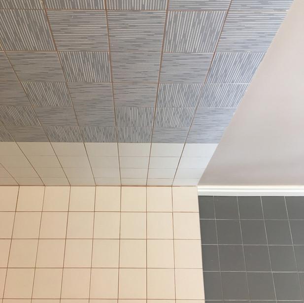 Bagno, dettaglio zona doccia
